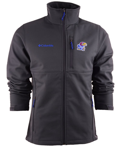 Columbia Men's Kansas Jayhawks Ascender Softshell Jacket