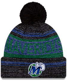 New Era Dallas Mavericks Hardwood Classics Snow Dayz Knit Hat