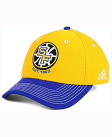 4483083f2f8 adidas Golden State Warriors Duel Logo Flex Cap