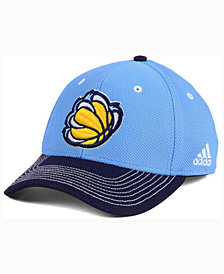 adidas Memphis Grizzlies Duel Logo Flex Cap