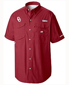Columbia Men's Oklahoma Sooners Bonehead Short Sleeve Shirt