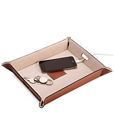 Leather Valet & Charging Station
