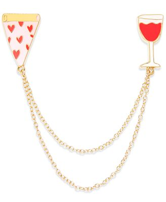 Celebrate Shop Pizza Handbag Chain Accessory