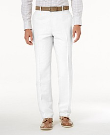 INC Men's Linen-Blend Dress Pants, Created for Macy's