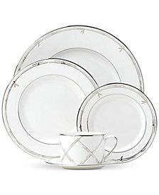 kate spade new york Emmett Street Platinum Dinnerware Collection