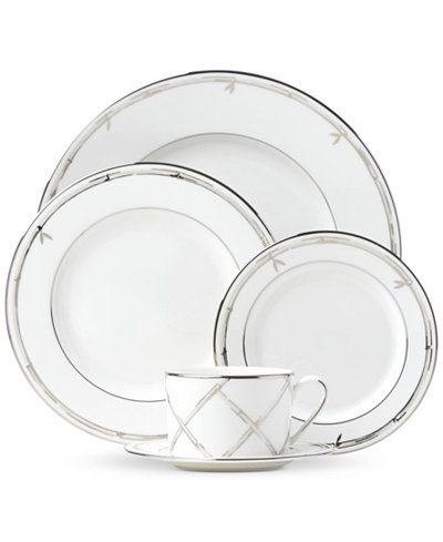kate spade new york Emmett Street Platinum Dinnerware Collection