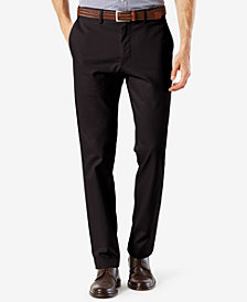 Dockers Men's Stretch Slim Tapered Fit Clean Khaki Pants
