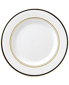 Library Lane Black Collection Salad Plate