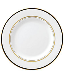 kate spade new york Library Lane Black Collection Salad Plate