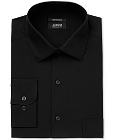 Alfani Black Men's Classic Fit Performance Dress Shirt, Created for Macy's