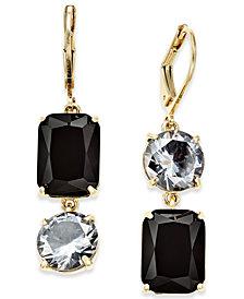 kate spade new york Gold-Tone Crystal Mismatch Earrings