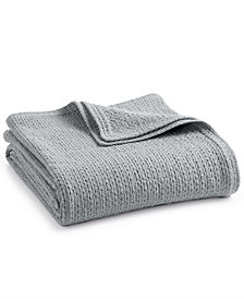 Calvin Klein Astara Cotton Queen Blanket
