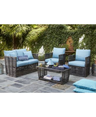 CLOSEOUT! Bahiya Outdoor Seating Collection, Created For Macyu0027s