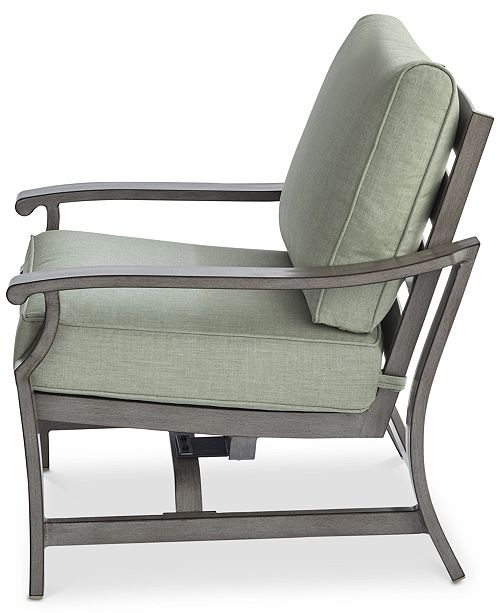 Furniture Tara Aluminum Outdoor Rocker Chair Created For