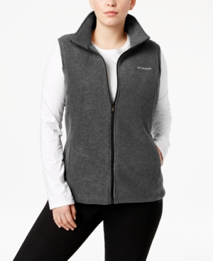 plus benton springs fleece vest