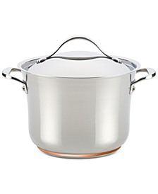 Nouvelle Copper Stainless Steel 6.5-Qt. Stockpot with Lid