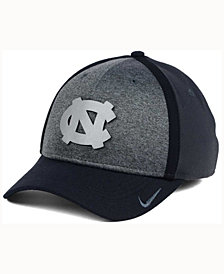 Nike North Carolina Tar Heels Heather Stretch Fit Cap
