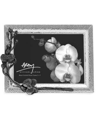 "Black Orchid 5"" x 7"" Picture Frame"