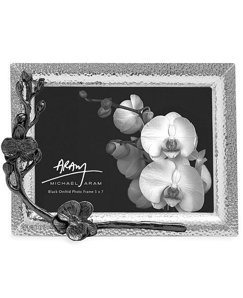 Michael Aram Black Orchid 5 X 7 Picture Frame Picture Frames