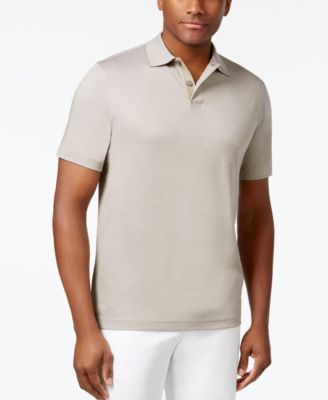 Image of Tasso Elba Men's Classic-Fit Supima® Blend Cotton Polo, Only at Macy's