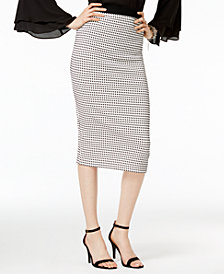 Alfani Midi Pencil Skirt, Created for Macy's