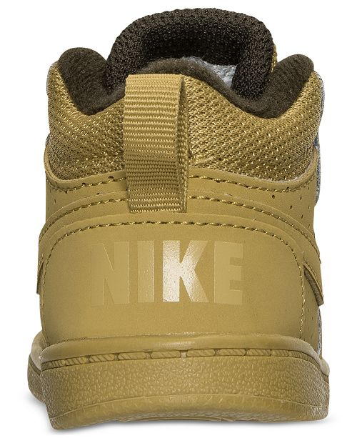 finest selection 011d1 46f65 ... Nike Toddler Boys  Court Borough Mid Premium Casual Sneakers from Finish  Line ...