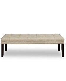 Brecken Upholstered Panel Tufted Bed Bench