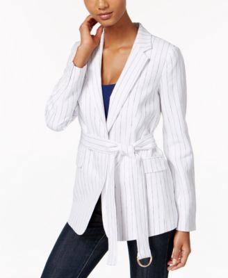 MICHAEL Michael Kors Off-The-Shoulder Blazer - Jackets - Women ...