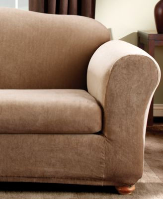 sure fit stretch stripe 2piece slipcover collection slipcovers for the home macyu0027s
