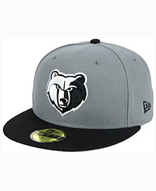 New Era Memphis Grizzlies 2-Tone Gray Black 59FIFTY Cap