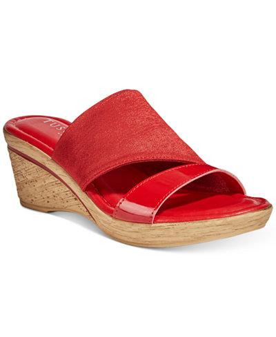 Tuscany By Easy Street Adagio Wedge Sandals