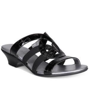 Karen Scott Emmee Slide Sandals, Created for Macy