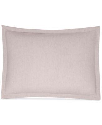 Rosequartz Linen Standard Sham, Created for Macy's
