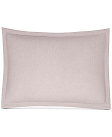 CLOSEOUT! Hotel Collection Rosequartz Linen Standard Sham, Created for Macy's