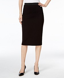 Below-Knee Pencil Skirt, Created for Macy's