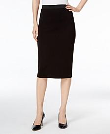 Below-Knee Pencil Skirt, Created for Macy's