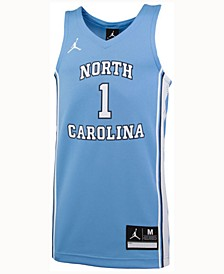 North Carolina Tar Heels Replica Basketball Jersey, Big Boys (8-20) #1