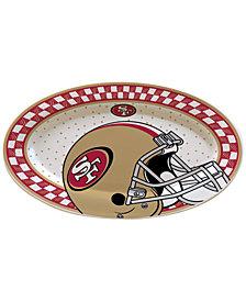 Memory Company San Francisco 49ers Oval Platter