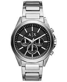 Men's Chronograph Stainless Steel Bracelet Watch AX2600