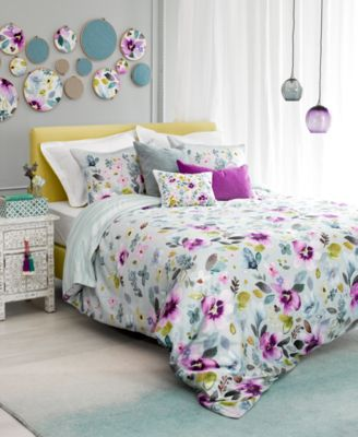 CLOSEOUT! Christine Reversible Twin Comforter Set