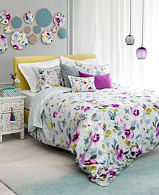 CLOSEOUT! bluebellgray Christine Reversible Twin Comforter Set