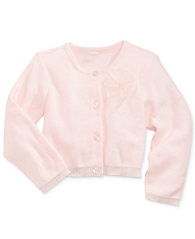 First Impressions Tulle-Bow Cardigan, Baby Girls (0-24 months), Only at Macy's