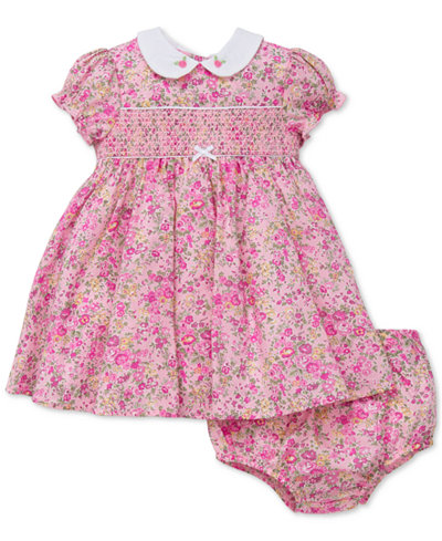Little Me Liberty of London Smocked Floral-Print Dress, Baby Girls (0-24 months)