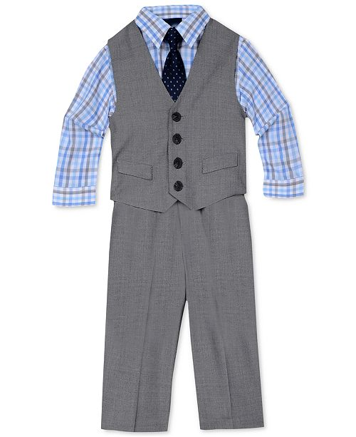 0c54b325e8d2 ... Nautica 4-Pc. Sharkskin Vest Set