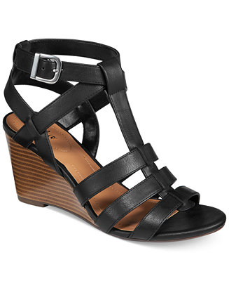 Style & Co Haydar Wedge Sandals, Only at Macy's - Sandals - Shoes - Macy's