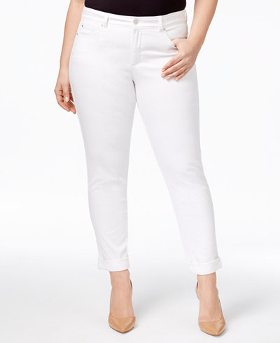 Charter Club Plus Size Boyfriend Jeans, Created for Macy's