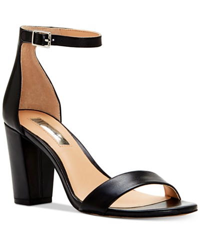 INC International Concepts Kivah Block-Heel Dress Sandals, Created for Macy's