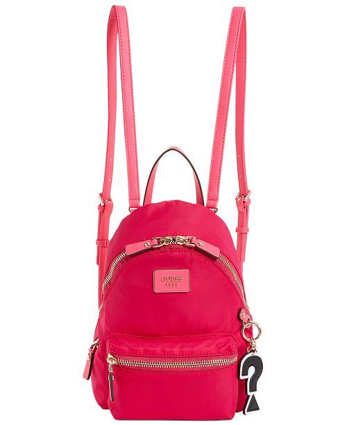 9be4e8917d44 GUESS Cool School Small Leeza Backpack   Reviews - Handbags ...