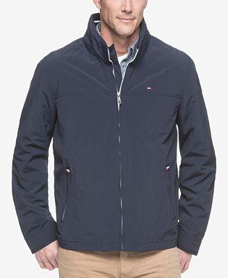 Tommy Hilfiger Men S Lightweight Taslan Jacket Coats Jackets