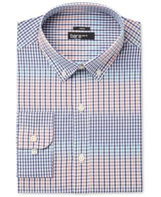 Bar III Men's Slim-Fit Oh Deer! Print Dress Shirt, Created for ...